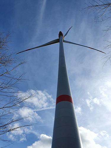 Windrad im Hürtgenwald
